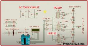 ir2110 circuit in proteus