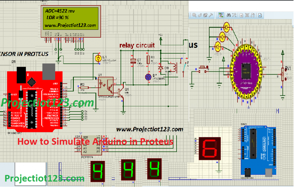 How to Simulate Arduino in Proteus,