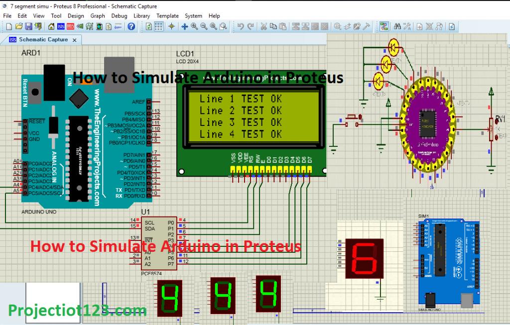 How to Simulate Arduino in Proteus,arduino simulation in proteus