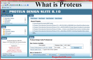 what is proteus ,example circuits proteus , proteus software