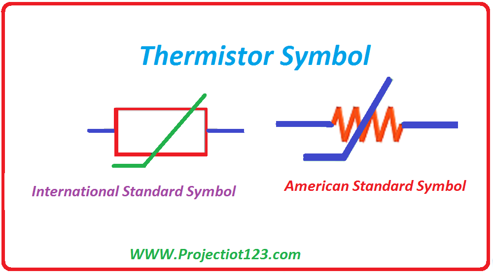 what is a thermistor types symbol graph circuit
