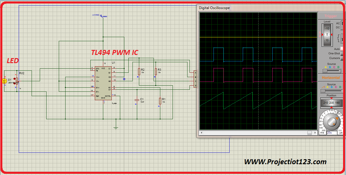 tl494 pwm ic pinout  application examples working smps
