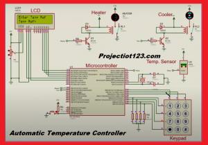 AUTOMATIC TEMPERATURE CONTROLLER Using PIC Microcontroller