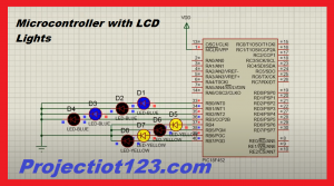 PIC Microcontroller Interfacing with leds