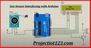 gas sensor Arduino circuit