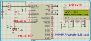 pic microcontroller interfacing with lcd in proteus,MICROCONTROLLER PIC16F877