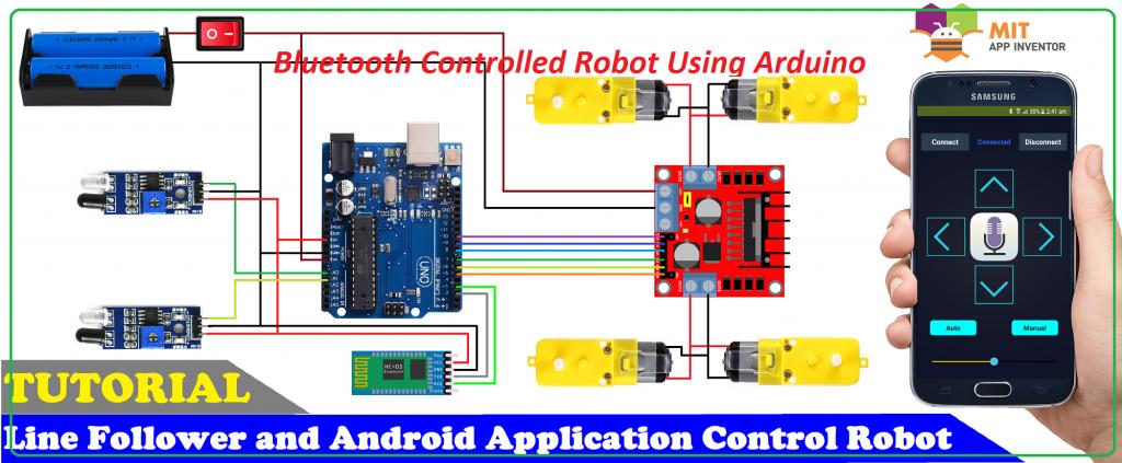 Bluetooth Controlled Robot Using Arduino