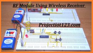 HT12E HT12D,RF Module ,proteus circuit, pinout, HT12E ,HT12D