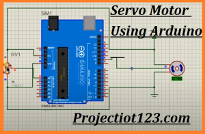 Servo Motor in Proteus,Arduino Servo Motor in Proteus