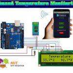arduino temperature sensor lm35 with code