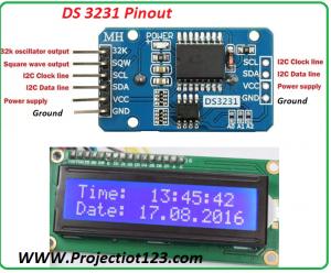 ds3231 pinout,DS3231 Pin Configuration,DS3231 Circuit Design