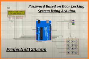 keypad in proteus,Password Based on Door Locking System Using Arduino