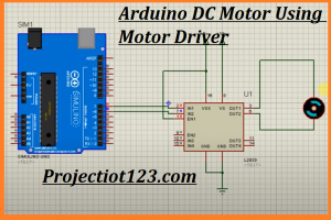 l293d motor driver shield library for proteus