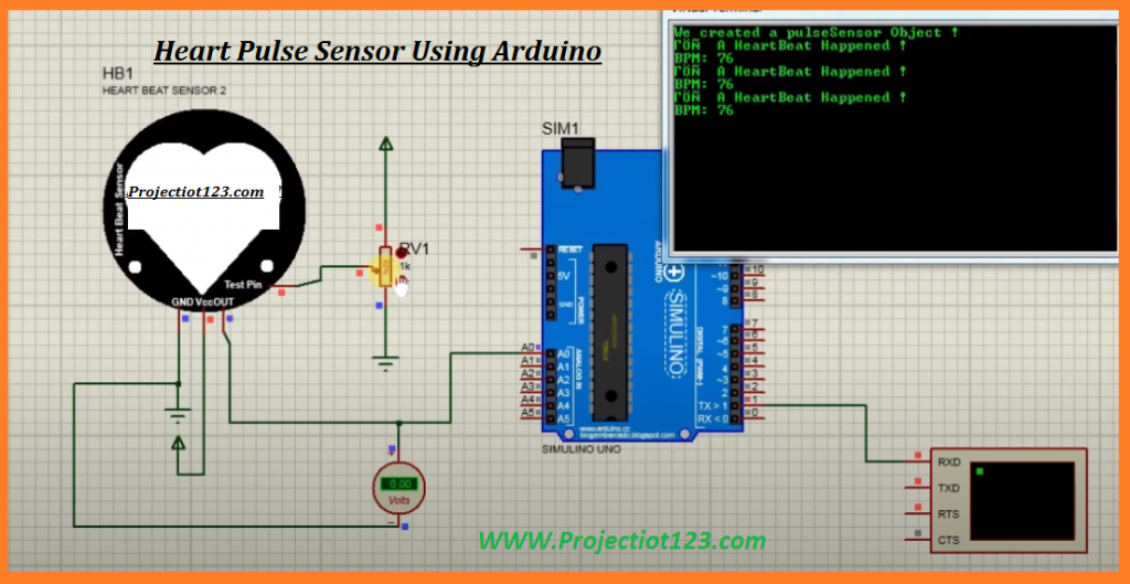pulse sensor arduino code ,bpm arduino proteus library,pulse sensor proteus library