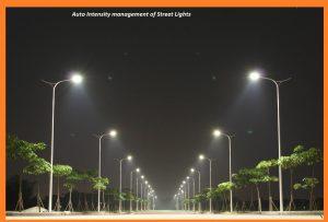 Auto Intensity management of Street Lights