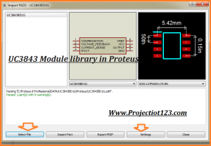 UC3843 library Proteus