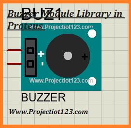 Buzzer Library in Proteus