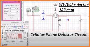 Cellular Phone Detector Circuit Diagram
