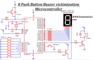 Circuit Diagram of Quiz Buzzer