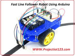 Fast Line Follower Robot Using Arduino