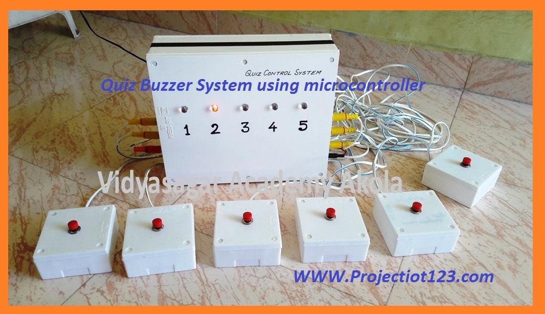 Quiz Buzzer System using microcontroller