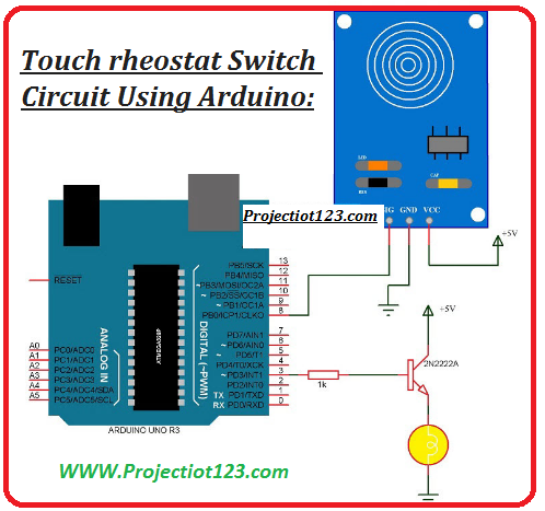 Touch Sensor Circuit Proteus Library Types Applications