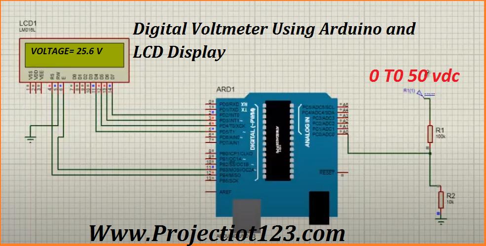 Arduino Ac Dc Voltmeter